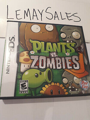 Plants vs. Zombies (Nintendo DS, 2011) *Complete*