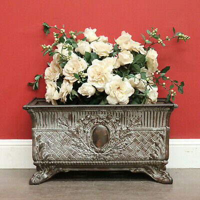 Antique French Jardiniere Antique Planter Pot Plant Holder Cast Iron Planter Box