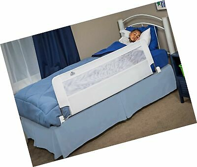 Regalo Swing Down 54-Inch Extra Long Bed Rail Guard, with Reinforced Anchor S...