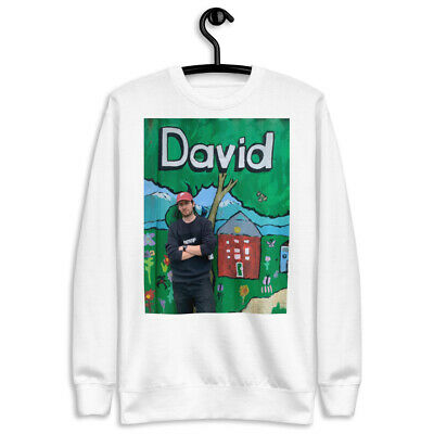 David Picture On A Nice Fresh Clean Unisex Fleece Pullover For You To Wear