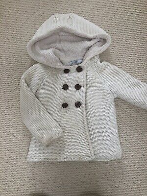 Cream Coat/Jacket M&S Aged 3 &4