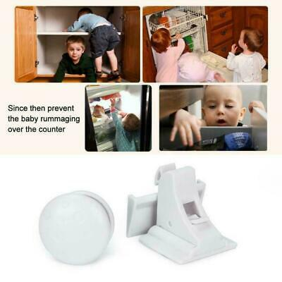 Childen Kids Protection Magnetic Lock Cabinet Door Safety Locks Invisible I3O2