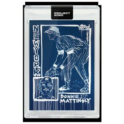 TOPPS PROJECT 2020 #69 1984 Don Mattingly (With Box) by Gregory Siff (PRE-SALE)