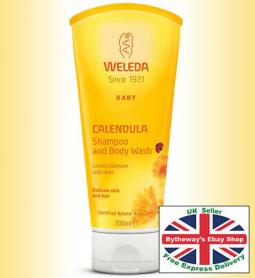 Weleda Baby Calendula SHAMPOO and BODY WASH 200 ml *BRAND NEW*