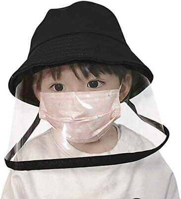 Safety Face Screen Cover Outdoor Anti-Fog Saliva Particulate fisherman cap kids