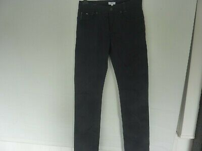 Boys Teens Hugo Boss Navy Blue Chino Jeans Age 15 16 Current Style Slim Leg M