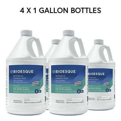 Bioesque Botanical Disinfectant - Case of 4 Gallons