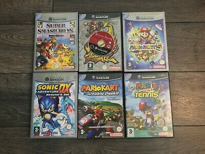 GameCube PAL Games - Pick From List - Double Dash, Mario Melee, Mario Party 5 ++