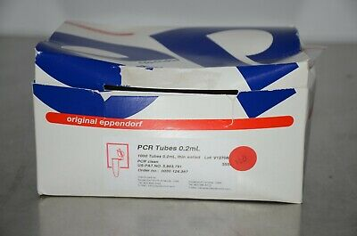 Eppendorf 0030124367 PCR Tubes 0.2mL 1000/Box