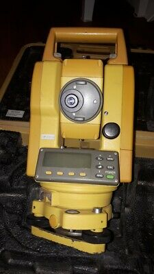 Topcon GTS 229 Total Station.  Calibrated