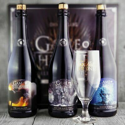 Ommegang Game Of Thrones Collector's Edition RARE Limited Edition goblet chalice