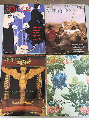 1998 The Magazine Antiques  - LOT OF 12 Months MAGAZINES- Great condition .