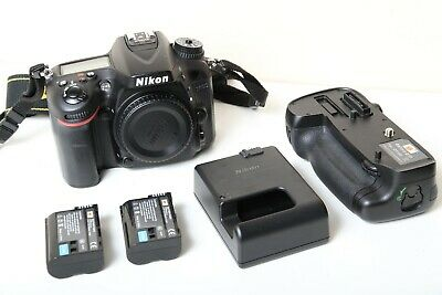 Used Nikon D7100 24.1MP Digital SLR Camera w/ Battery grip 11500 shutter count