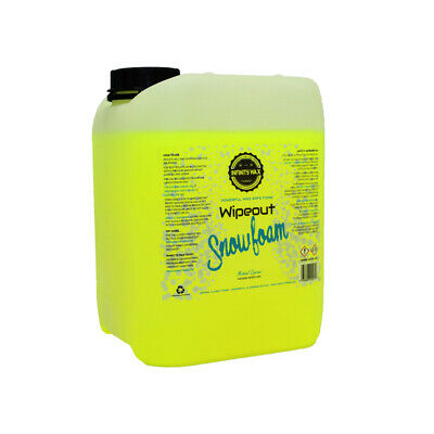 Infinity Wax Wipeout Snowfoam 5L - Wax safe thick foaming pre wash
