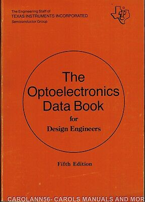 TEXAS INSTRUMENTS Data Book 1978 Optoelectronics 5th Edition