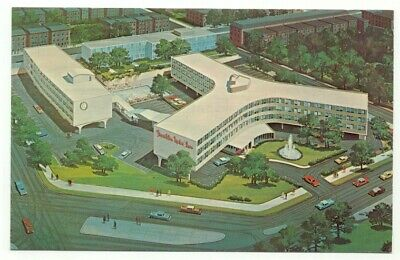 Philadelphia PA Franklin Motor Inn Postcard - Pennsylvania