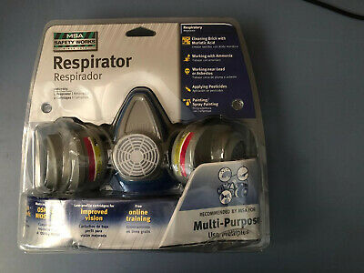 MSA Safety Works Multi Purpose Respirator Model 00817663