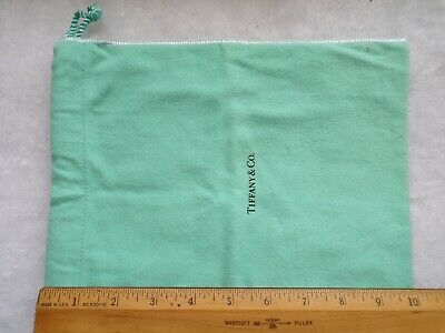 """Tiffany & Co. Pouch 10"""" Large Size with drawstrings - Nice Nice Authentic pc."""