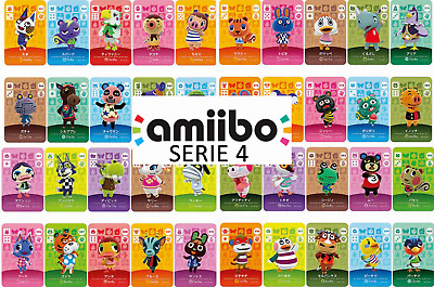 Animal Crossing Amiibo Karten SERIE 4. Nr 301-400 | New Horizons