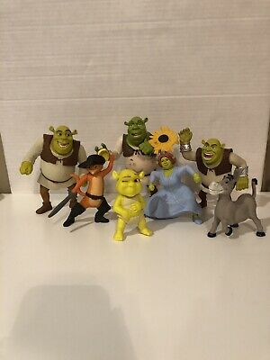 HUGE Lot Shrek Ogre Babies Puss in Boots Donkey And More