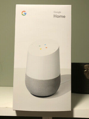 Google Home Smart Speaker with Google Assistant White Slate Brand New in Box
