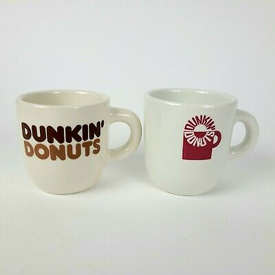 Lot Of 2 Vintage 1970'S Dunkin Donuts Coffee Mugs Rego Mayer China Free Shipping