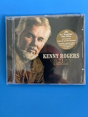 KENNY ROGERS 21 Number Ones 2006 Greatest Hits CD Dolly Parton Dottie West