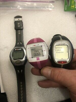 Lot Of 3 Polar Heart Rate
