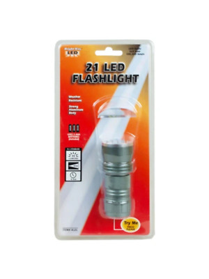 21 LED Weather Resistant Flashlight (Available in a pack of 6)