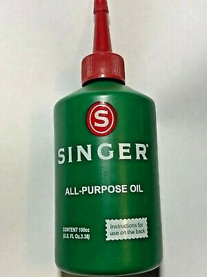 Singer Sewing Machine Oil and Other Vintage Machines Number S1209***