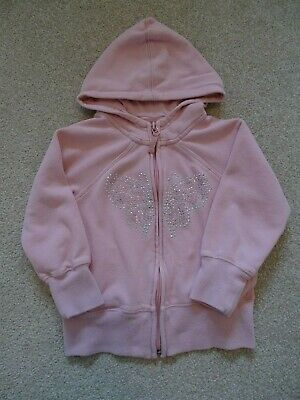 Girl's Pink Hooded Jacket from Next Age 5 Years