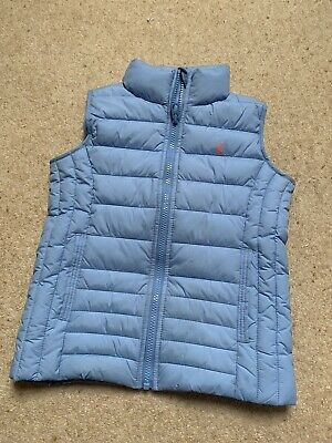 Joules Girls  Blue Gilet  Age 6