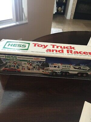 Hess 1991 - Toy Truck And Racer - New