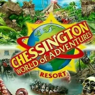 2 CHESSINGTON WORLD TICKETS VALID ANY DATE 2020 UNTIL 1st OF NOVEMBER