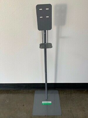 Stand for Sanitizer Dispenser Universal model Stands Only 2 STANDS MADE IN USA