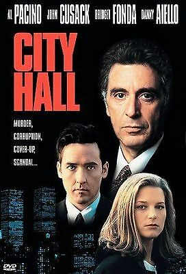 City Hall (DVD, Region 1) Very Good condition from personal collection!