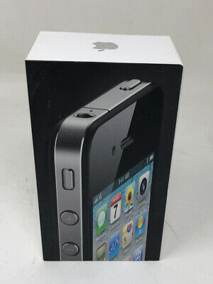 iPhone 4 Box ONLY ~ Originally for black 16gb AT&T