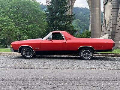 1972 GMC Sprint SP 1972 GMC Sprint SP 454 Big Block RARE Red on Black