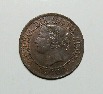 1859 Canada Large Cent Foreign Coin