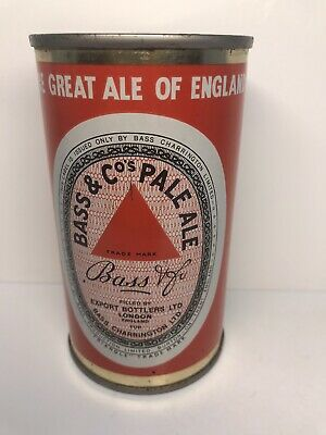 Bass & Co's Pale Ale Flat Top Beer Can - London, England