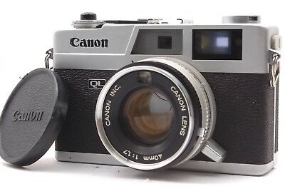 @ Ship in 24 Hours! @ Discount! @ Canon Canonet QL17 Film Rangefinder Camera