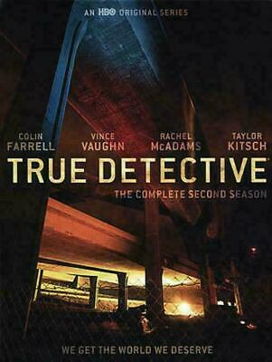 True Detective: Season 02 (DVD, 2016, 3-Disc Set) NEW