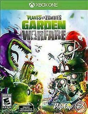 Plants vs. Zombies: Garden Warfare (Microsoft Xbox One, 2014) DISC IS MINT