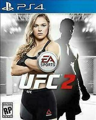 EA Sports UFC 2 (Sony PlayStation 4, 2016) DISC IS MINT