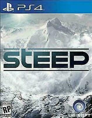 Steep (Sony PlayStation 4, 2016) DISC IS MINT