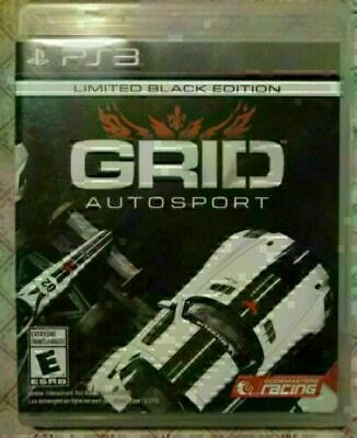 Grid Auto Sport Limited Black Edition - Playstation 3 - Disc Is Mint