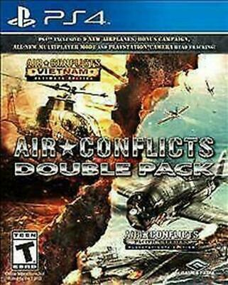 Air Conflicts: Double Pack (Sony PlayStation 4, 2016) DISC IS MINT