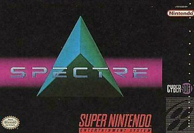 Spectre (Super Nintendo Entertainment System, 1994) VERY GOOD - CART ONLY
