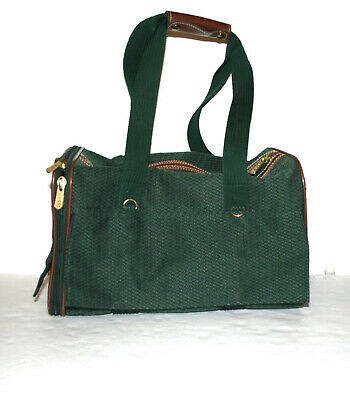 Sherpa Original Deluxe Pet Dog Cat Carrier/Shoulder Bag. Small Breeds, Green