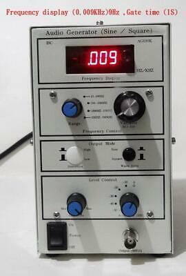 Used 10Hz to100KHz Low distortion sine wave generator with square wave
